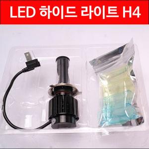 LED H4 ���̵����Ʈ 80W